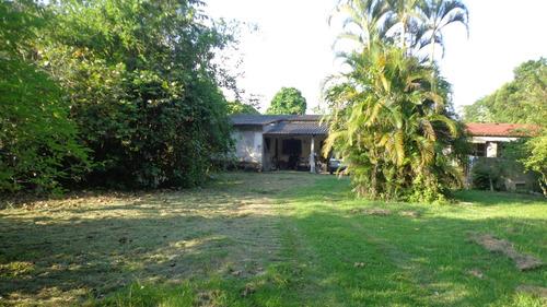 chácara residencial com duas casas. ref. 262 e 238 cris