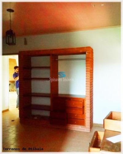 chácara residencial em atibaia para venda com escritura. boa topografia e acesso - ch00577 - 4358256