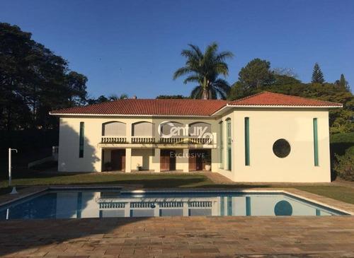 chácara residencial para locação, chácara areal, indaiatuba. - ch0024