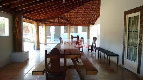 chácara residencial para locação, recanto da paz, itatiba. - ch0237