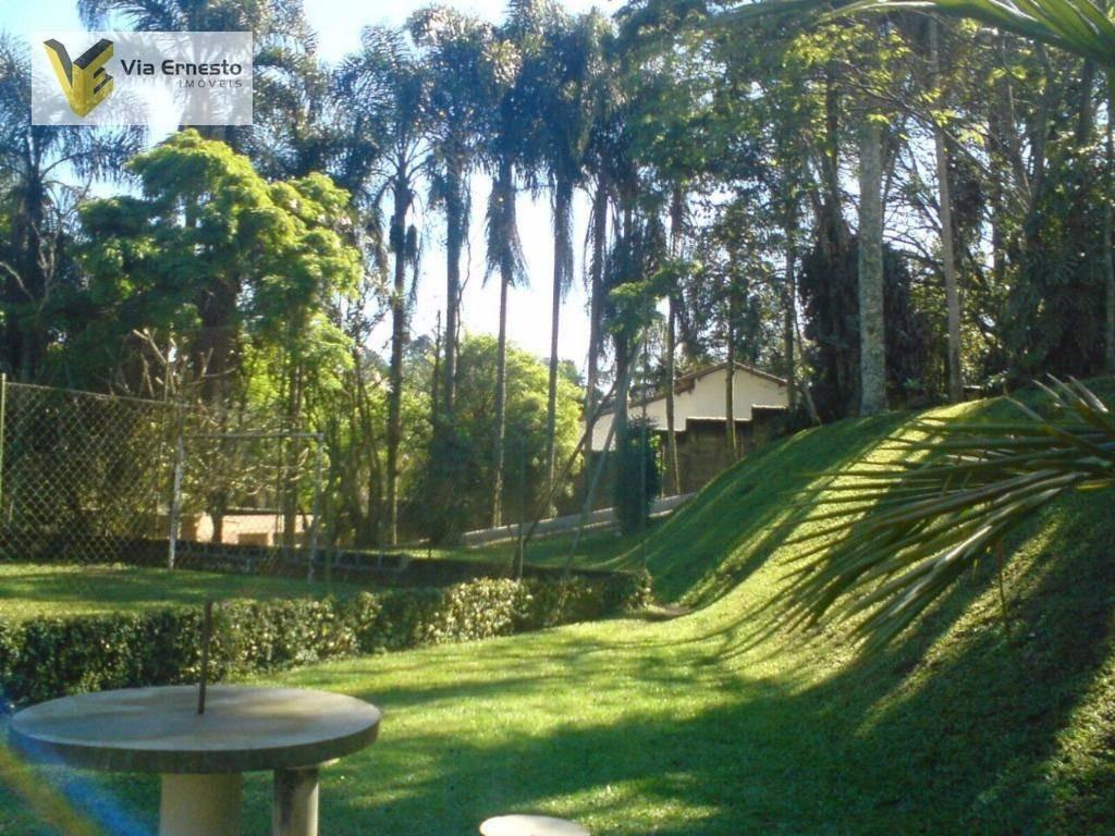 chácara residencial para locação, recreio primavera, itapecerica da serra. - ch0007