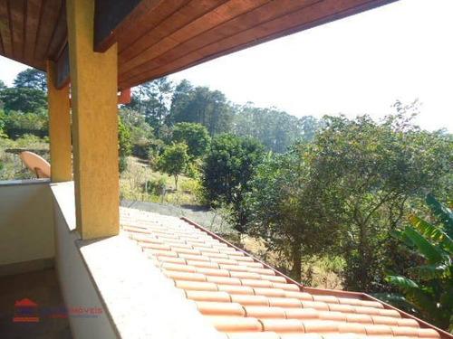 chácara residencial para locação, vila verde - transurb, cotia. - ch0022