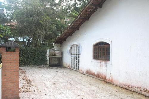 chácara residencial para venda e locação, jardim clube de campo, santo andré. - ch0017