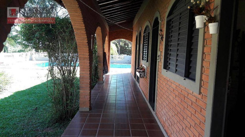 chácara residencial para venda e locação, joapiranga, valinhos. - ch0019