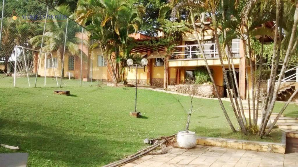 chácara residencial para venda e locação, recanto das flores, indaiatuba. - ch1330