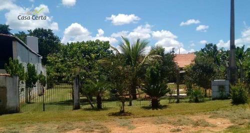 chácara residencial à venda, area rural, itapira. - ch0068