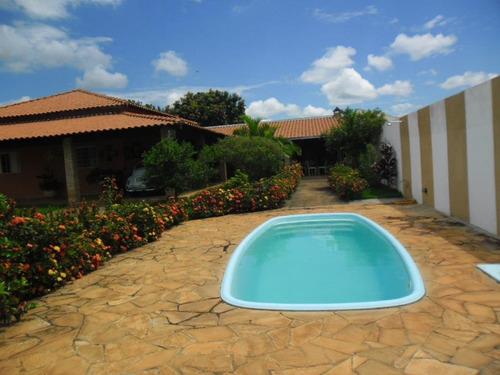 chácara  residencial à venda, associação residencial e recreativa estância bacuri, ipiguá. - ch0118