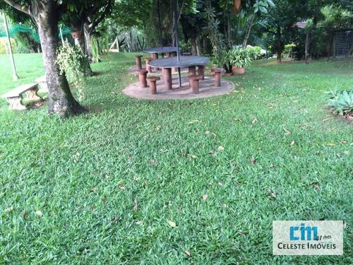 chácara residencial à venda, bairro taquaral cerquilho. - ch0043