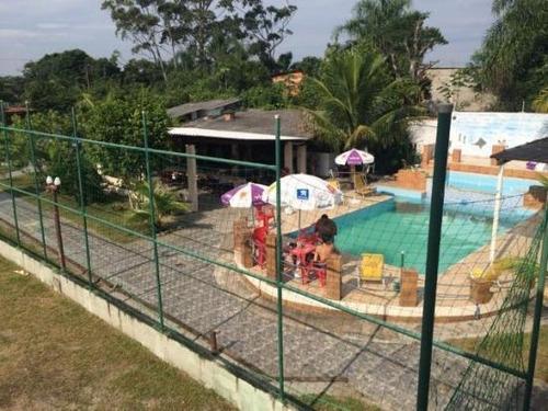 chácara residencial à venda, balneário gaivota, itanhaém. - ch0008