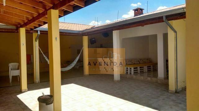 chácara residencial à venda, balneario tropical, paulínia. - ch0082