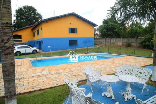 chácara residencial à venda, bom jardim, laranjal paulista. - ch0004