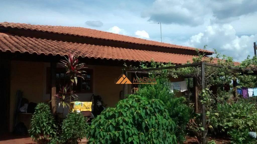 chácara residencial à venda, bonfim paulista, ribeirão preto. - ch0063