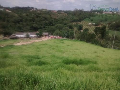 chácara residencial à venda, bosque das araras, vinhedo. - ch0053