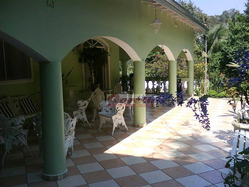 chácara  residencial à venda, cachoeira, santa isabel. - ch0022