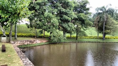 chácara residencial à venda, cachoeiras do imaratá, itatiba. - ch0164