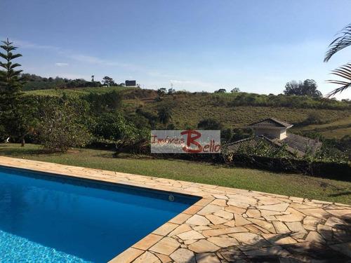 chácara residencial à venda, cachoeiras do imaratá, itatiba. - ch0265