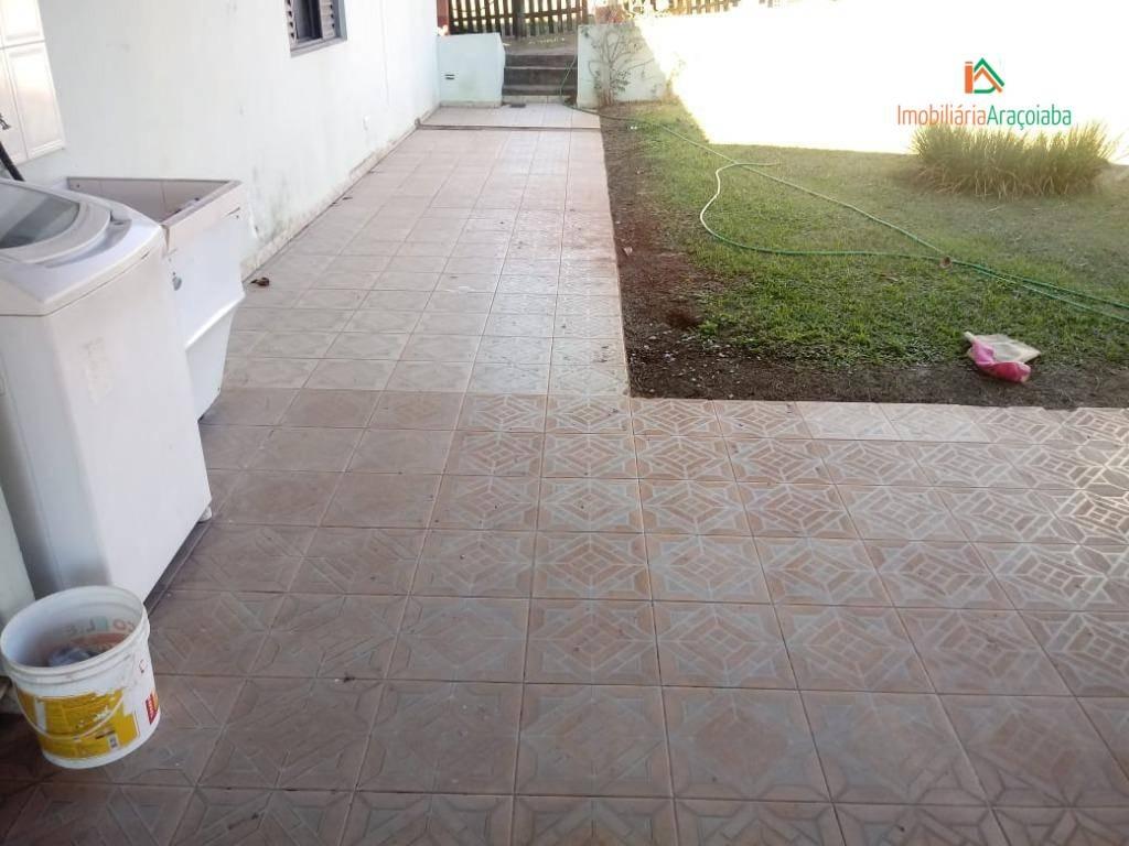 chácara residencial à venda, centro, araçoiaba da serra. - ch0134