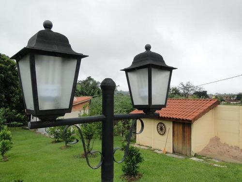 chácara residencial à venda, centro, araçoiaba da serra - ch0203. - ch0203