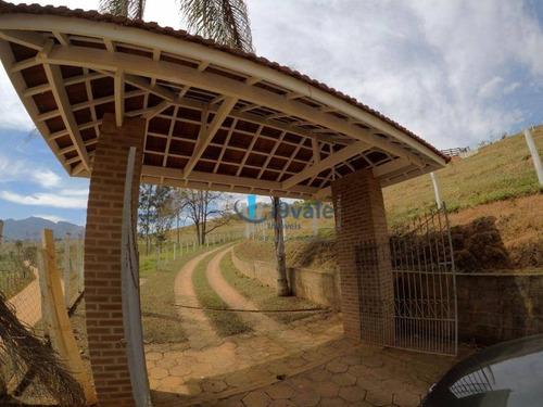 chácara residencial à venda, centro, paraisópolis. - ch0029