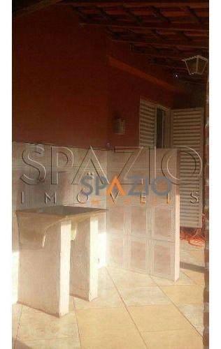 chácara residencial à venda, centro, santa gertrudes. - ch0007