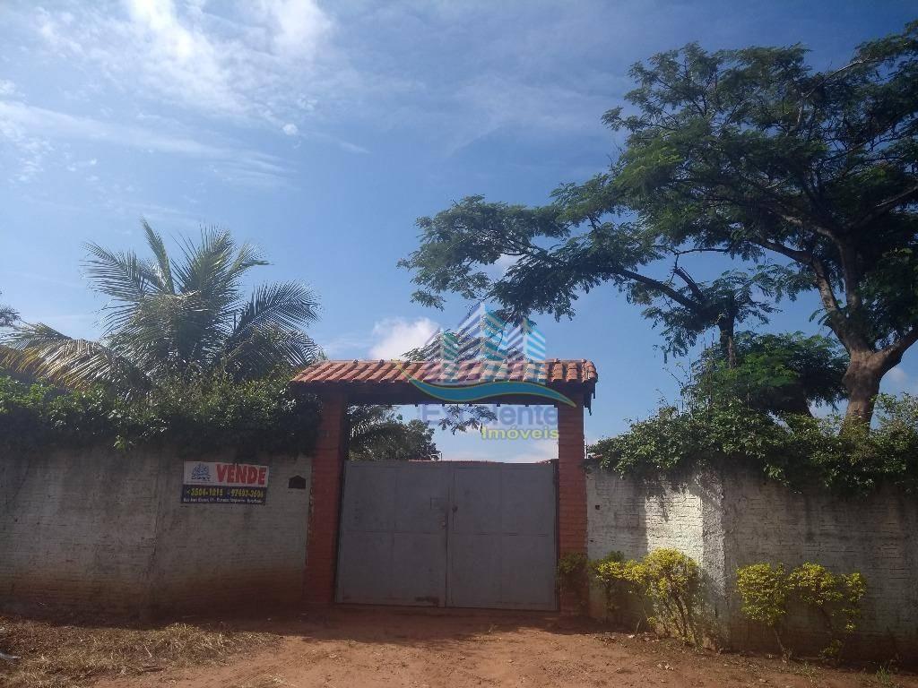 chácara residencial à venda, chácara recreio alvorada, hortolândia. - ch0009