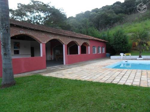 chácara residencial à venda, chácara santa cruz dos pires, itatiba. - ch0089