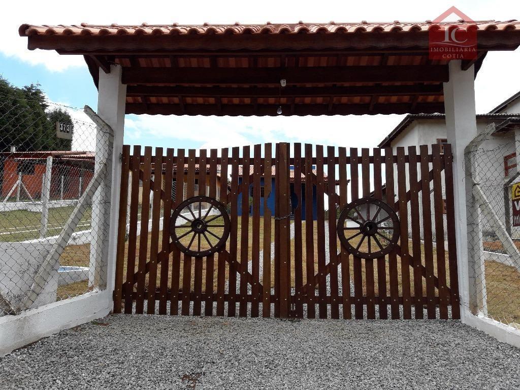 chácara residencial à venda, chácara tropical (caucaia do alto), cotia. - ch0043