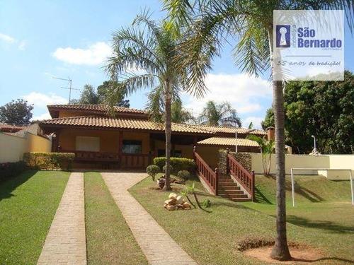chácara residencial à venda, chácaras acapulco, nova odessa. - ch0009
