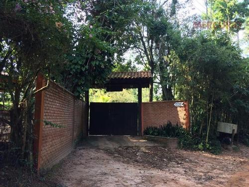chácara residencial à venda, chácaras bauruenses, bauru. - ch0084