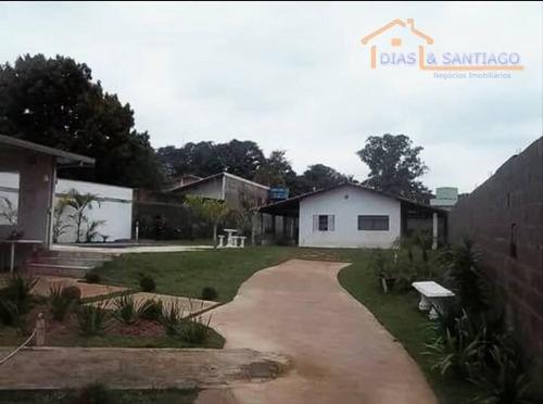 chácara residencial à venda, condomínio chácara grota azul, hortolândia. - ch0002