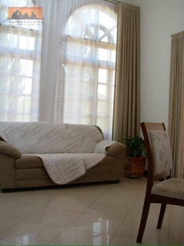 chácara residencial à venda, condomínio chácaras vale das garças, campinas. - ch0017