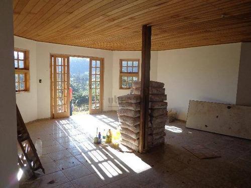 chácara residencial à venda, condomínio monte verde, itu. - ch0268