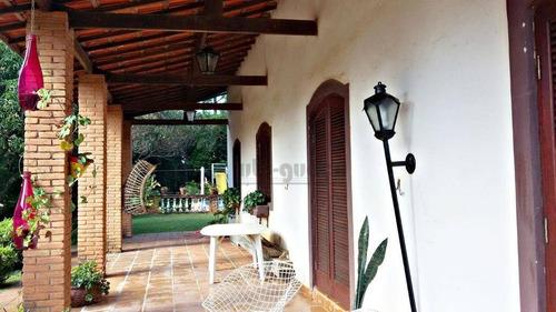 chácara residencial à venda, condomínio monte verde, itu. - ch0303
