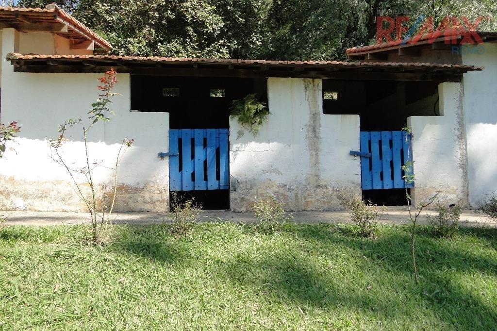 chácara  residencial à venda, condomínio recanto florido, vinhedo. - ch0098