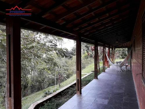 chácara residencial à venda, cuiabá, nazaré paulista. - ch0121