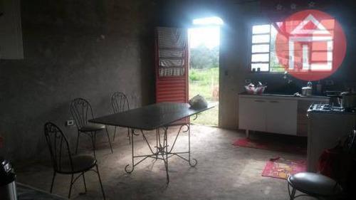 chácara  residencial à venda, curitibanos, bragança paulista. - ch0012