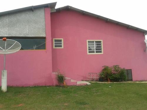 chácara residencial à venda, distrito do porto, capela do alto. - ch0109