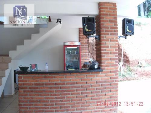 chácara residencial à venda, dos farias, socorro. - ch0012