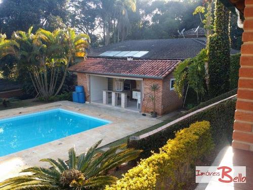 chácara residencial à venda, encosta do sol, itatiba. - ch0196