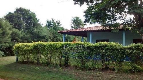 chácara residencial à venda, estância vale do sol, arealva. - ch0019