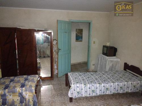 chácara residencial à venda, ipelândia, suzano. - ch0028