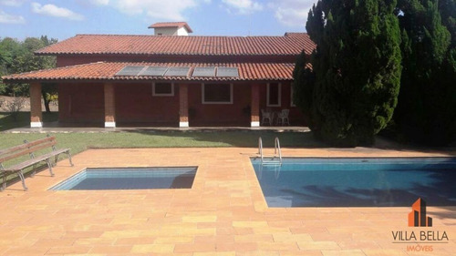 chácara residencial à venda, itaici, indaiatuba. - ch0007