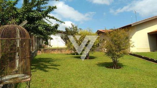 chácara residencial à venda, jardim alvorada, araçoiaba da serra. - ch0004