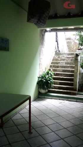 chácara residencial à venda, jardim clube de campo, santo andré - ch0061. - ch0061