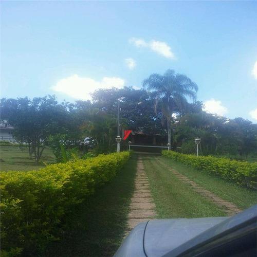 chácara residencial à venda, jardim estância brasil, atibaia. - ch0041