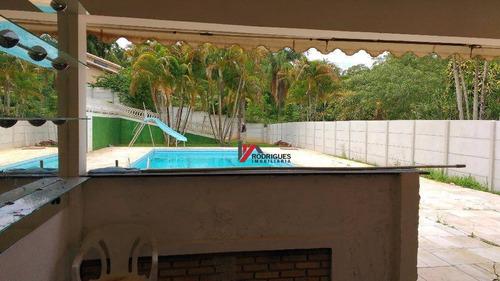 chácara residencial à venda, jardim estância brasil, atibaia. - ch0050
