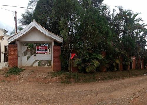 chácara residencial à venda, jardim estância brasil, atibaia. - ch0063