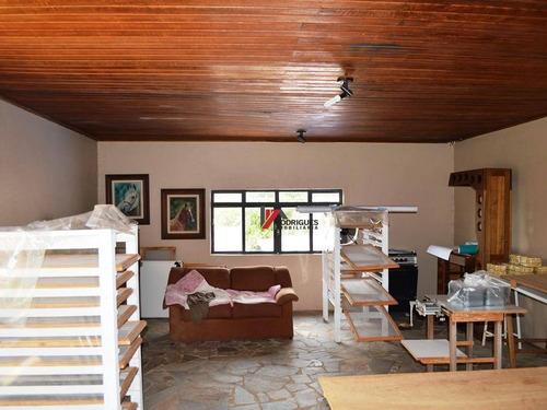 chácara residencial à venda, jardim estância brasil, atibaia. - ch0064