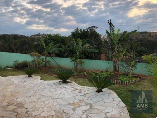 chácara residencial à venda, jardim estância brasil, atibaia. - ch0072
