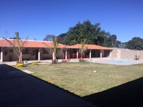 chácara residencial à venda, jardim maracaibo, tremembé. - ch0017